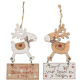 Cute Wooden Reindeer With Hanging Plaque. 2 quotes available. 6981